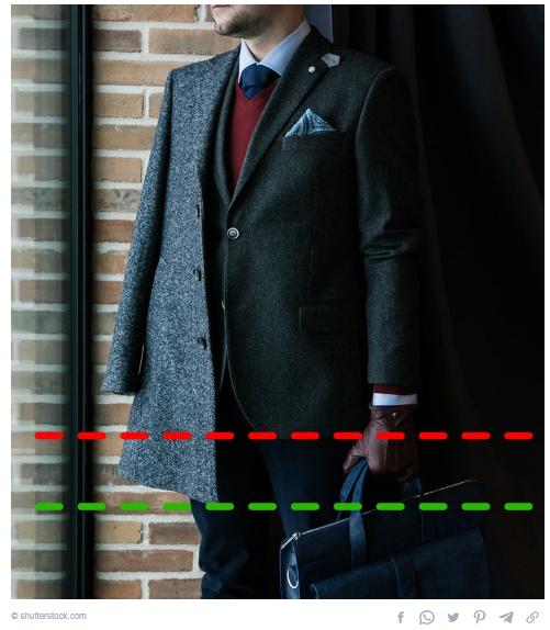 Long or short blazer