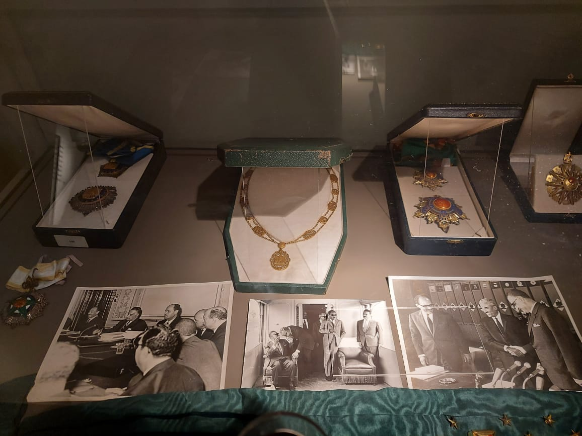 داخل متحف السادات بالإسكندرية فى ذكرى نصر أكتوبر (15)