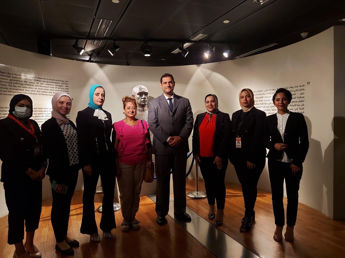 داخل متحف السادات بالإسكندرية فى ذكرى نصر أكتوبر (20)
