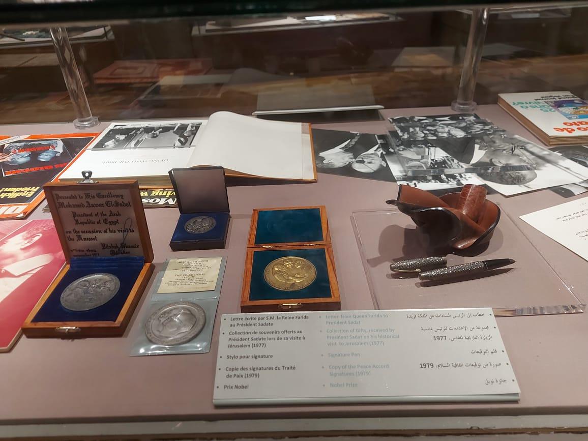 داخل متحف السادات بالإسكندرية فى ذكرى نصر أكتوبر (6)