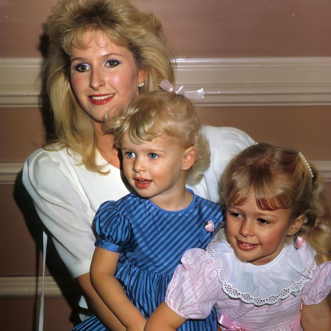 Paris and Nikki with their mother