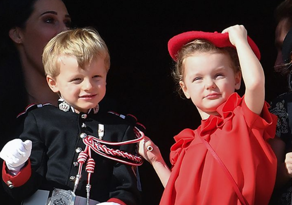 الأمير جاك والأميرة جابرييلا