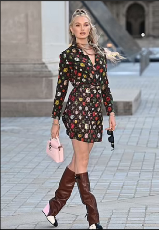 Louis Vuitton wraps up Fashion Month with its '60s-inspired Spring/Summer 2022 collection (7)