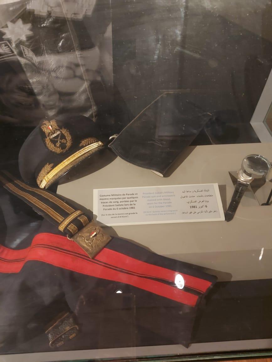 داخل متحف السادات بالإسكندرية فى ذكرى نصر أكتوبر (30)