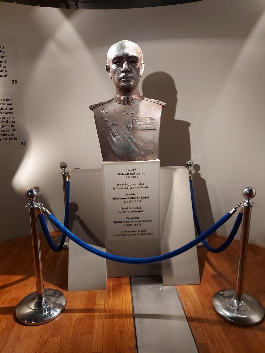 داخل متحف السادات بالإسكندرية فى ذكرى نصر أكتوبر (24)