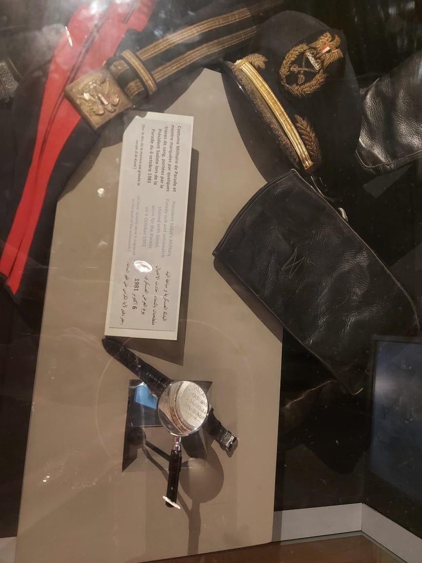 داخل متحف السادات بالإسكندرية فى ذكرى نصر أكتوبر (25)
