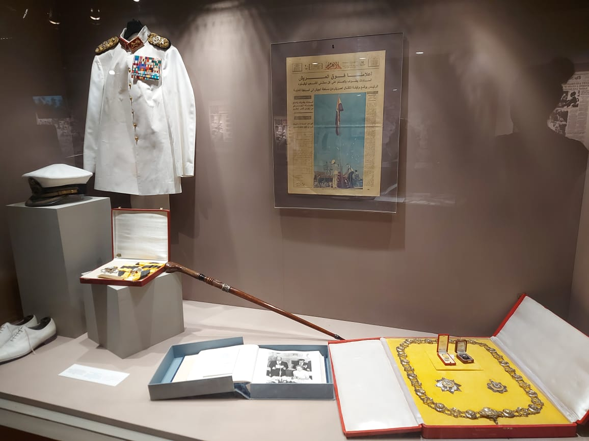 داخل متحف السادات بالإسكندرية فى ذكرى نصر أكتوبر (3)