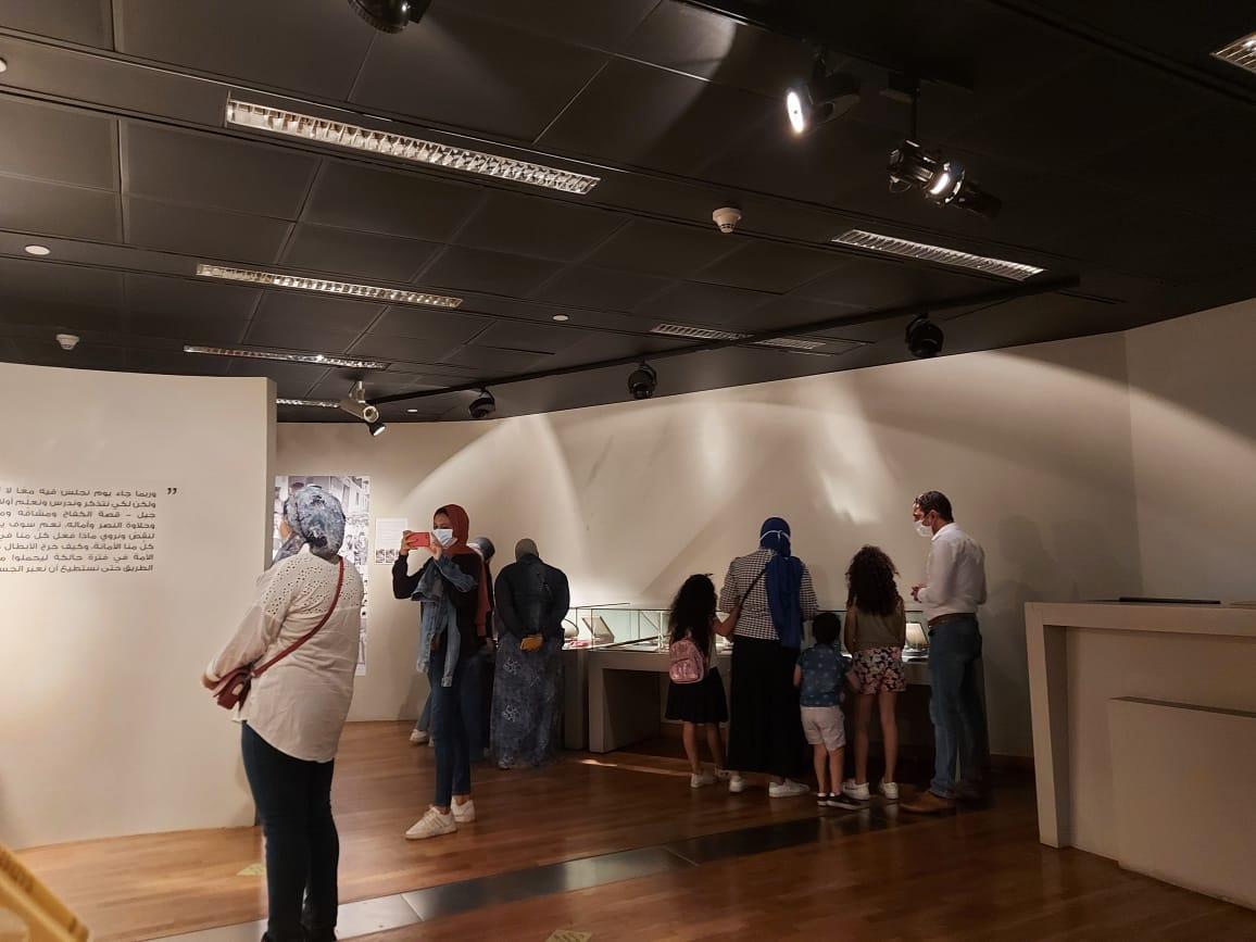 داخل متحف السادات بالإسكندرية فى ذكرى نصر أكتوبر (23)