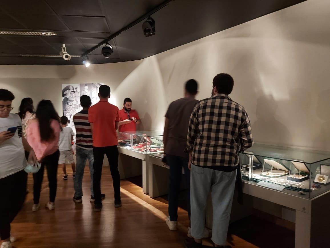 داخل متحف السادات بالإسكندرية فى ذكرى نصر أكتوبر (18)