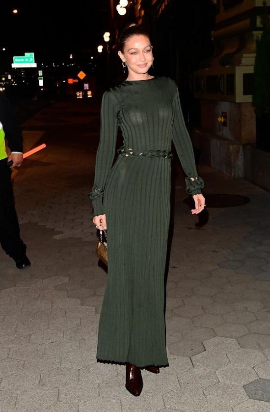 Gigi Hadid Style Green (3)