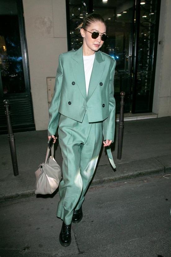 Gigi Hadid Style Green (5)