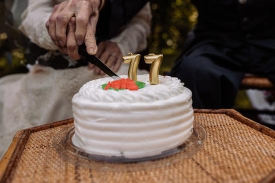 كعكة الإحتفال