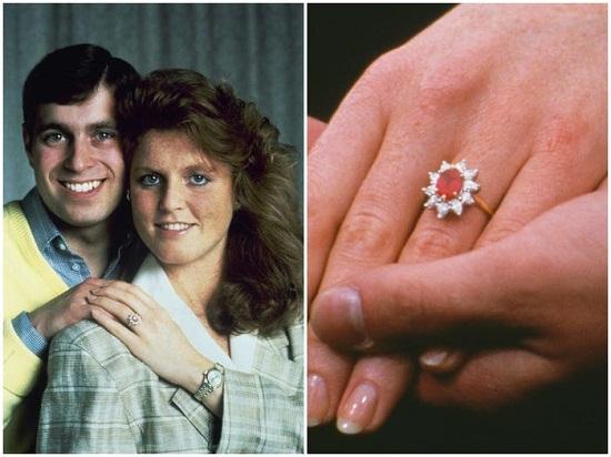 Sarah Ferguson's ring