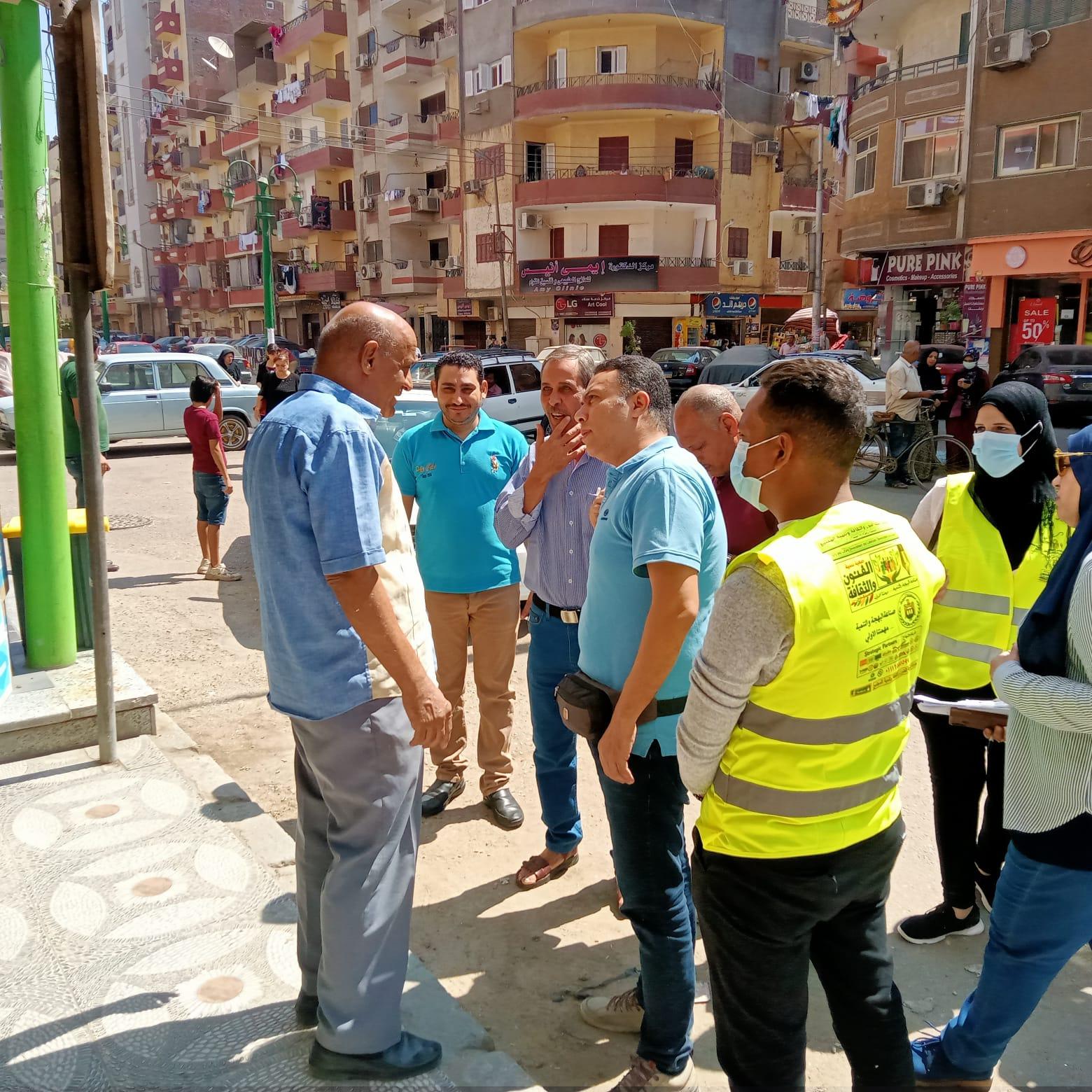 استمرار حملات التشجير والتوعية البيئية وتنفيذ حملة بمنطقة فريال بحي شرق ضمن مبادرة اتحضر لل (10)