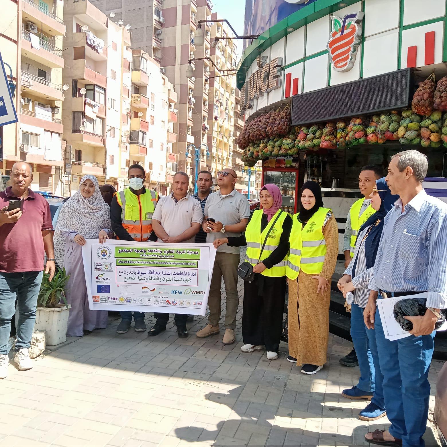 استمرار حملات التشجير والتوعية البيئية وتنفيذ حملة بمنطقة فريال بحي شرق ضمن مبادرة اتحضر لل (7)