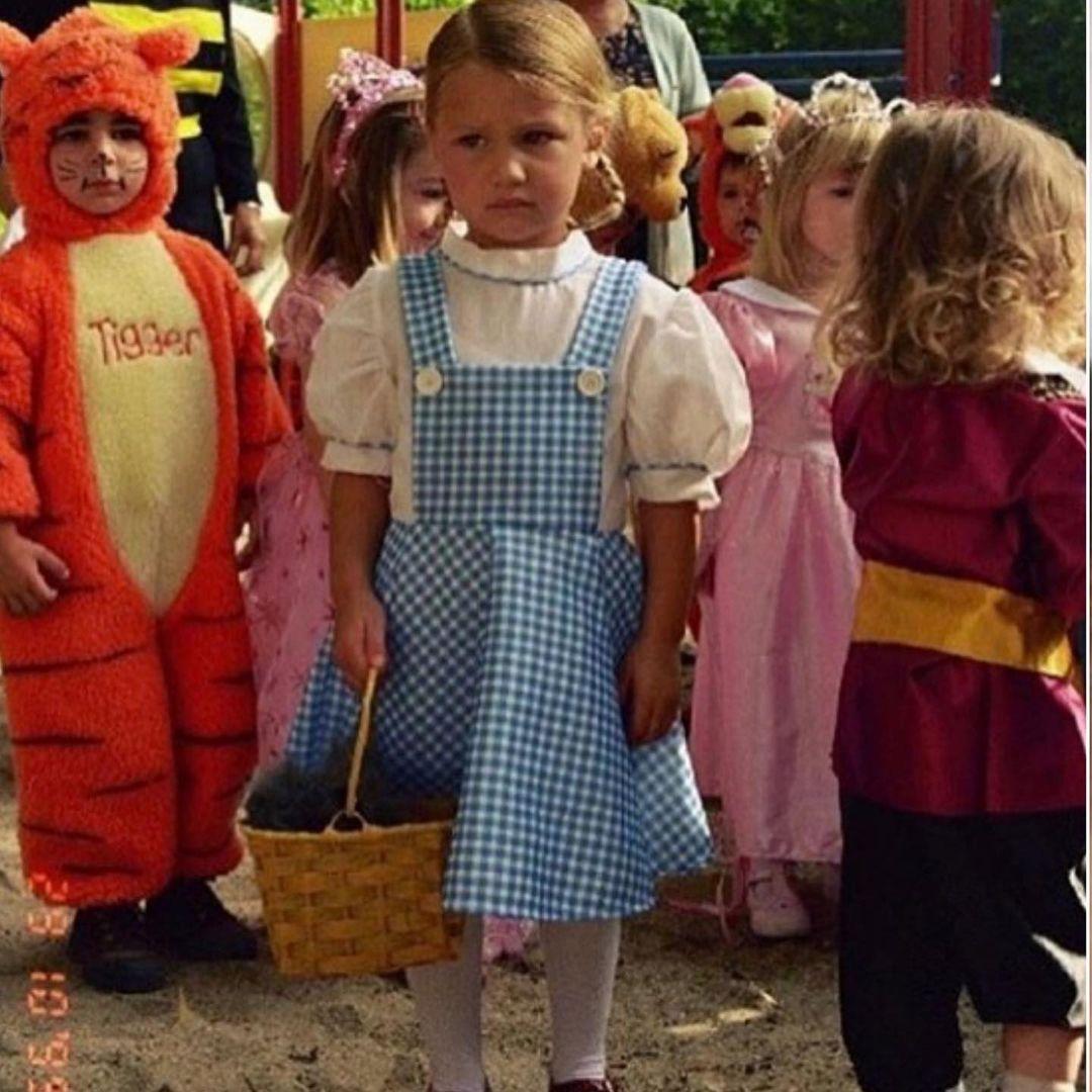 Bella Hadid as a little girl (1)