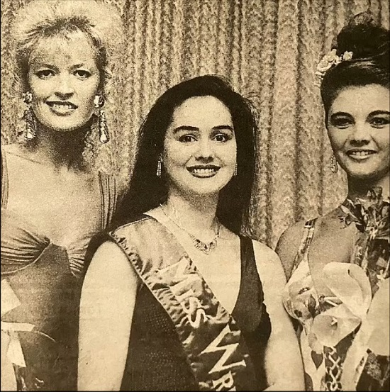 A girl wins the title of Miss Universe 29 years after her mother's victory (5)