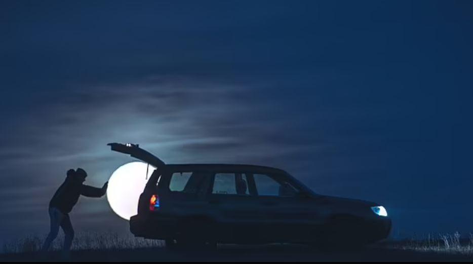moon robbery photoshoot
