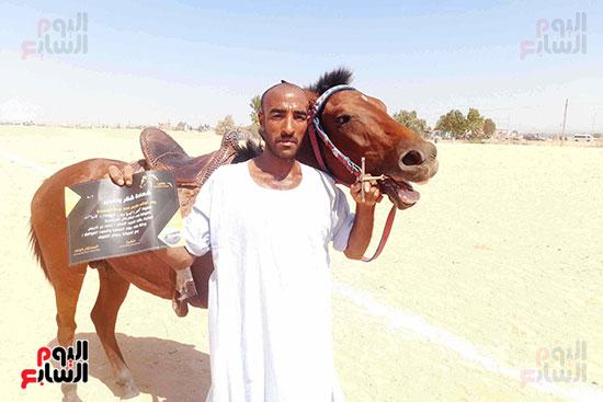 مرماح الخيول سباقات تحدى وفروسية يحافظ عليها أبناء القبائل بأسوان (3)