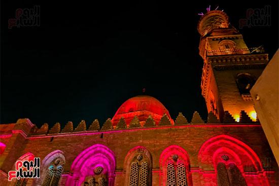 اضاءه المسجد ليلا