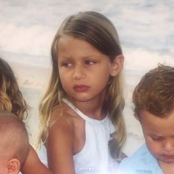 Bella Hadid as a little girl (2)