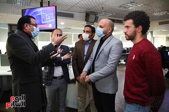 مجلس تحرير موقع تحيا مصر يزور اليوم السابع (3)