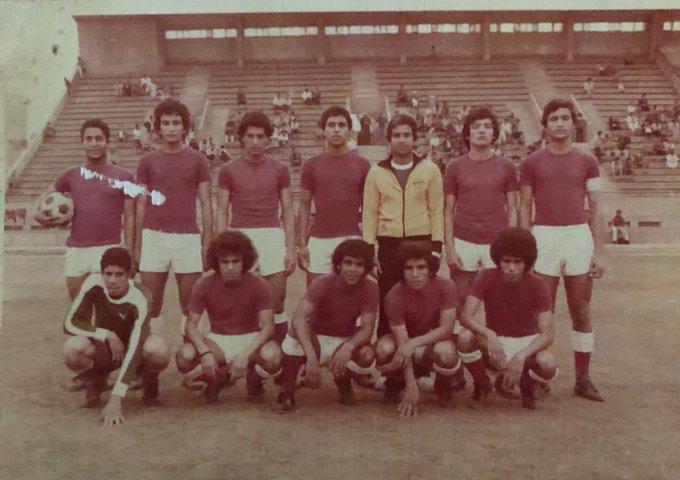 احمد شوبير مع فريق تحت ال17 سنة