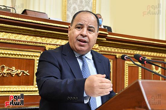 وزير المالية أمام النواب