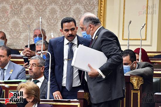 الدكتور عبد الهادى القصبى و المهندس أشرف رشاد
