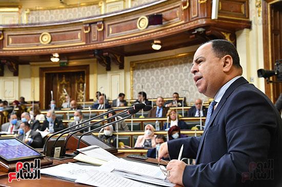 بيان وزير المالية أمام البرلمان
