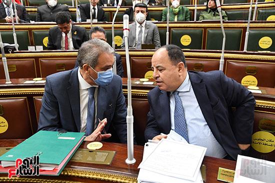 الدكتور محمد معيط فى البرلمان