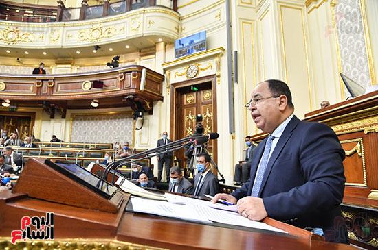 الدكتور محمد معيط أمام مجلس النواب