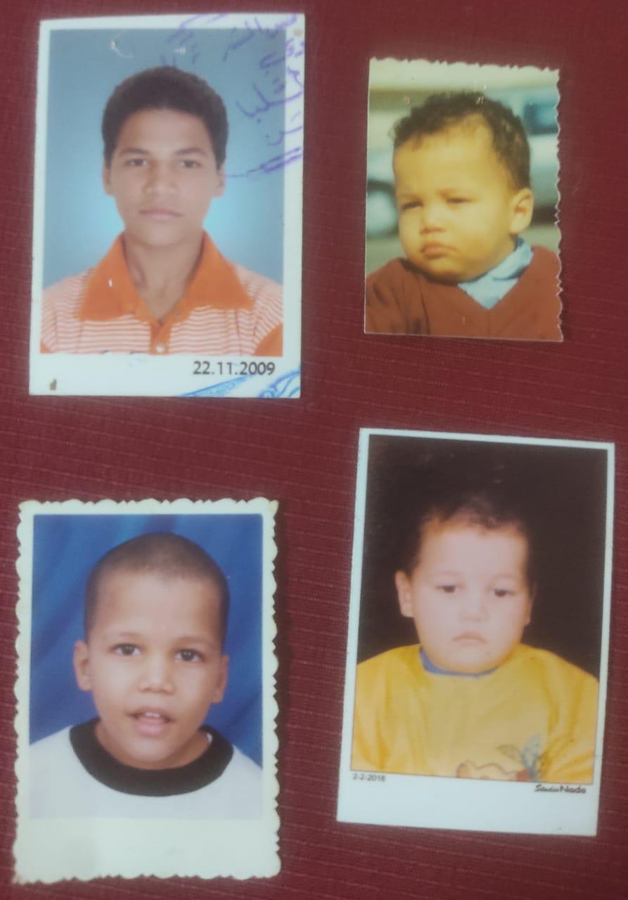 صور محمود وهو طفل