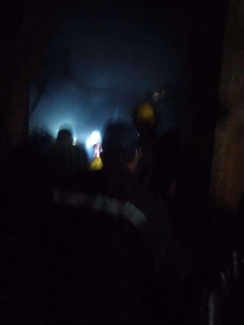 حريق مصنع أبو رجوان