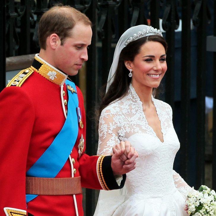 تاج زفاف كيت ميدلتون
