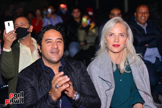 حفل لقاء الخميسي في ساقية الصاوي (24)