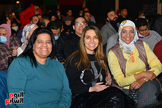 حفل لقاء الخميسي في ساقية الصاوي (25)