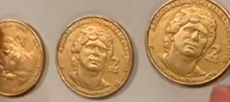عملة مارادونا المعدنية