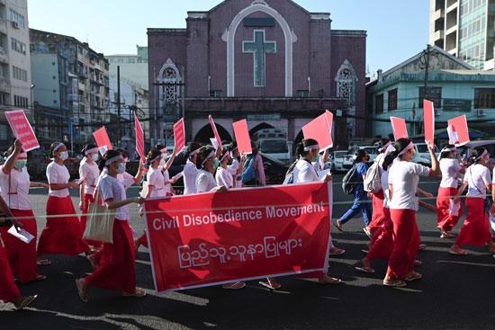 احتجاجات ضد الإنقلاب