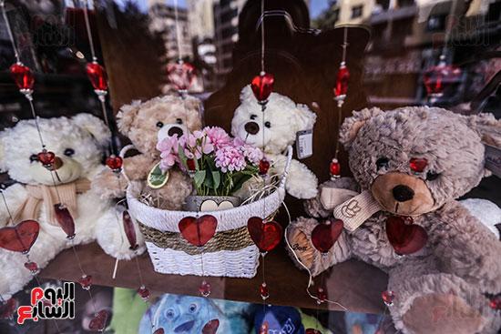 جانب من هدايا عيد الحب