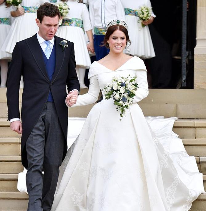 الأميرة أوجينى وزوجها جاك