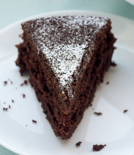 طريقة عمل الكيكة بالكاكاو