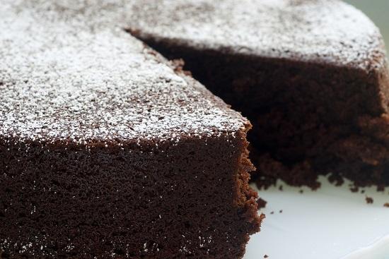 طريقة عمل الكيكة بالكاكاو1