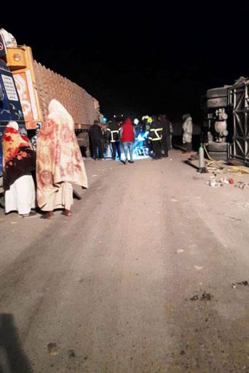 ضحايا أتوبيس طريق أبوسمبل جنوب أسوان (7)