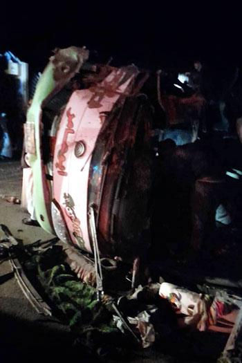 ضحايا أتوبيس طريق أبوسمبل جنوب أسوان (1)