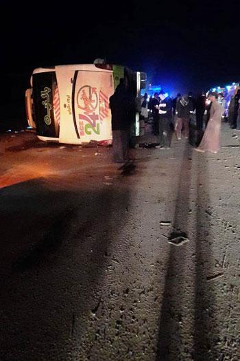 ضحايا أتوبيس طريق أبوسمبل جنوب أسوان (4)