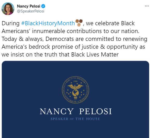 نانسي بيلوسى على تويتر