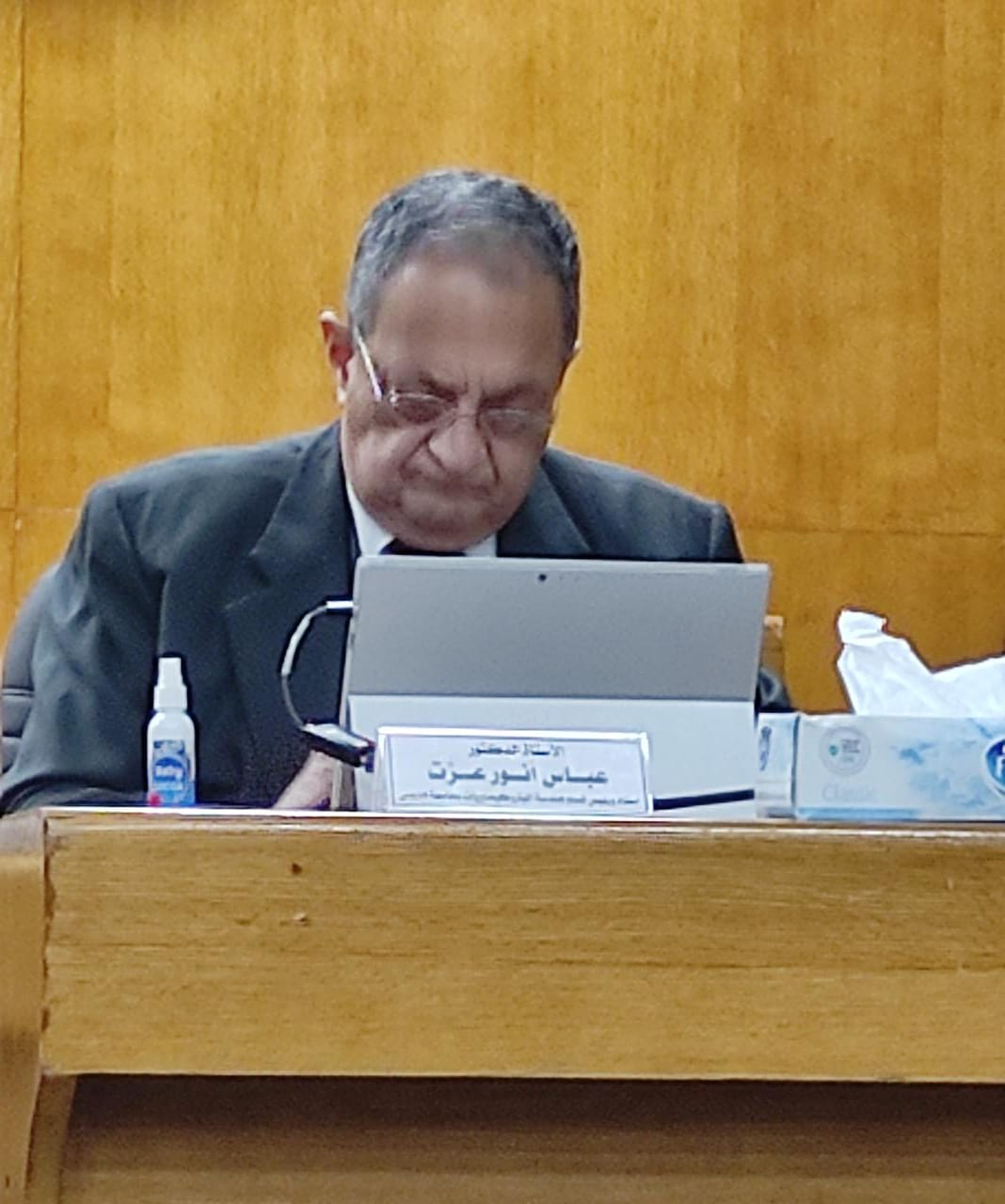 الدكتور عباس عزت