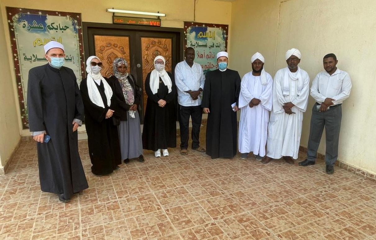 قافلة الأوقاف فى السودان  (1)