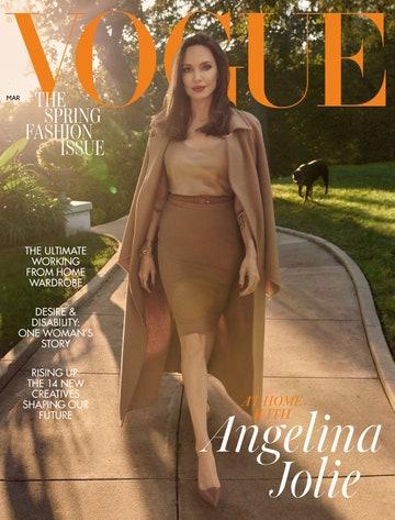 انجلينا في اطلالة من ماكس مارا